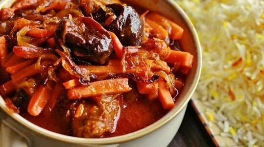 طرز تهیه خورشت هویج ترکی