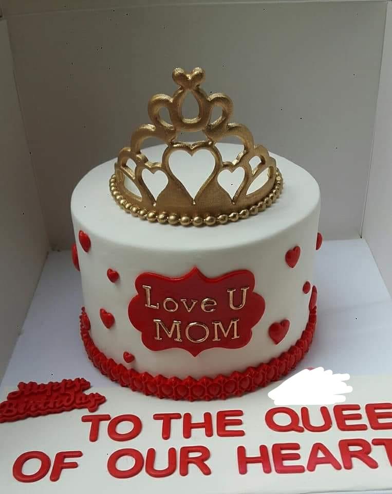 نمونه کیک روز مادر